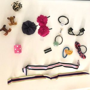 Bundle of Assorted Hair Accessories